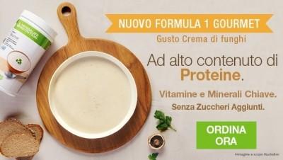 Formula 1 Gourmet Gusto crema di funghi Herbalife