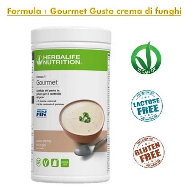 Formula 1 Gourmet Gusto crema di funghi