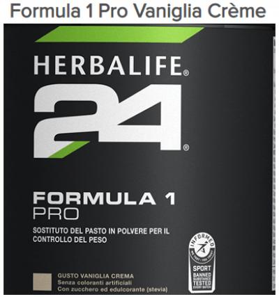 H24 Formula 1 Pro Vaniglia Crème Herbalife