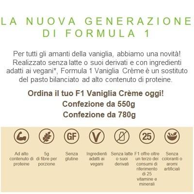 Formula 1 Vaniglia Crème  Herbalife