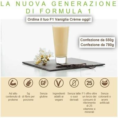 Herbalife Formula 1 Vaniglia Crème