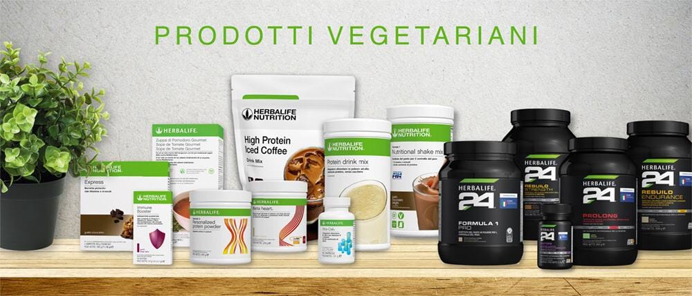 prodotti Herbalife vegetariani