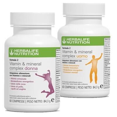 Formula 2 Vitamin & Mineral Complex - Uomo / Donna
